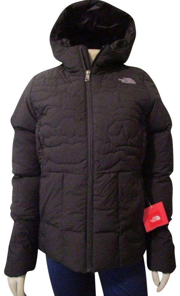 55b995cb976 The North Face Tnf Black Womens Rhea 550-down Hooded Warm Winter ...