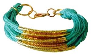 Other NWOT Multi Strand Cord & Gold Tub Bracelet