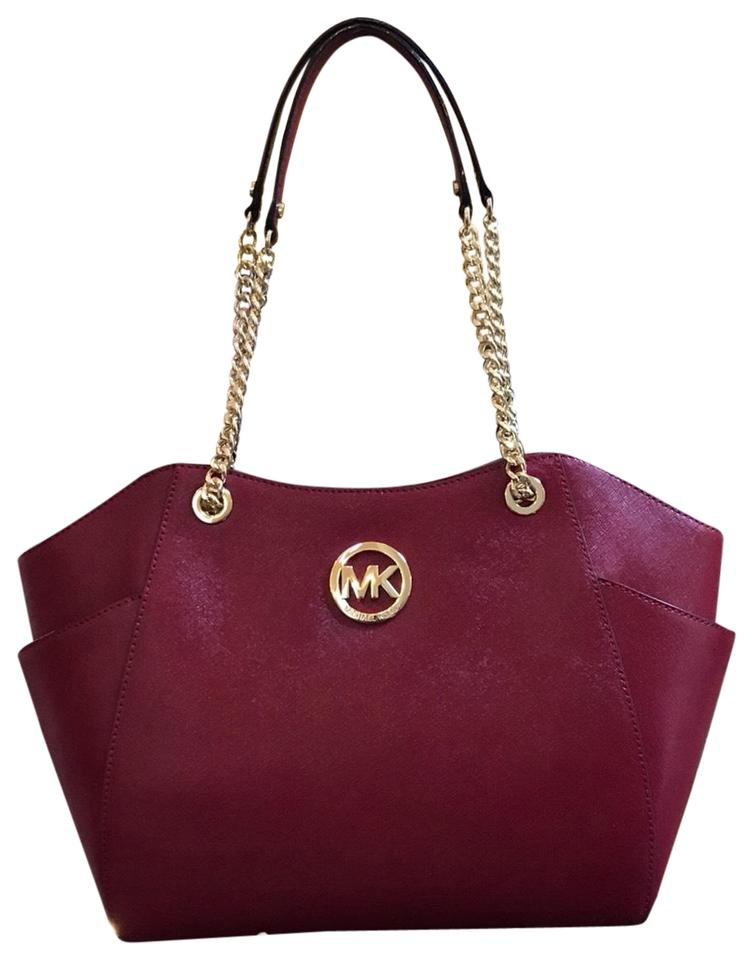 Michael Kors Patent Leather Chain Gift Shoulder Bag