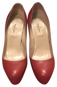 Valentino red Platforms