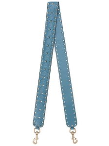 Valentino Rockstud Spike Guitar Strap Smooth Leather