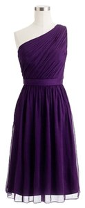 J.Crew Petite One Silk Chiffon Wedding Bridesmaid Dress
