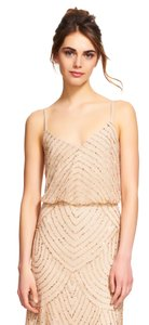 Adrianna Papell Beaded Sequin Bridesmaid Style# 09186670 Dress