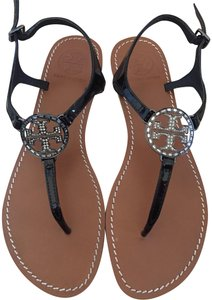 11f48dd38d46 Tory Burch Black Sandals - Up to 70% off at Tradesy