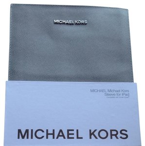 Michael Kors New Michael Kors Gray Elegant iPad Sleeve Compatible With Smart Cover MK