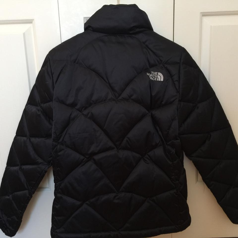 00c4296459 The North Face Black 550 Down Puffer Jacket Coat Size 8 (M) - Tradesy