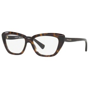 Coach HC6090-5120 Cat Eye Women's Dark Tortoise Frame Genuine Eyeglasses