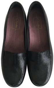 Clarks Loafer Black Pumps