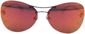 Chanel Chanel RUNWAY RED Mirror Pilot Quilting Sunglasses 4218 c.124/6Q t70