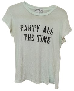 Wildfox T Shirt light sea foam green