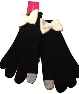 Kate Spade Kate Spade Colorblock Bow Touch Gloves
