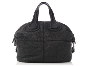 Givenchy Gv.l1211.01 Medium Pebbled Nightingale Satchel in Black