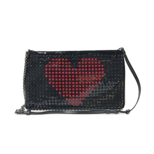 Christian Louboutin Black / Red Clutch