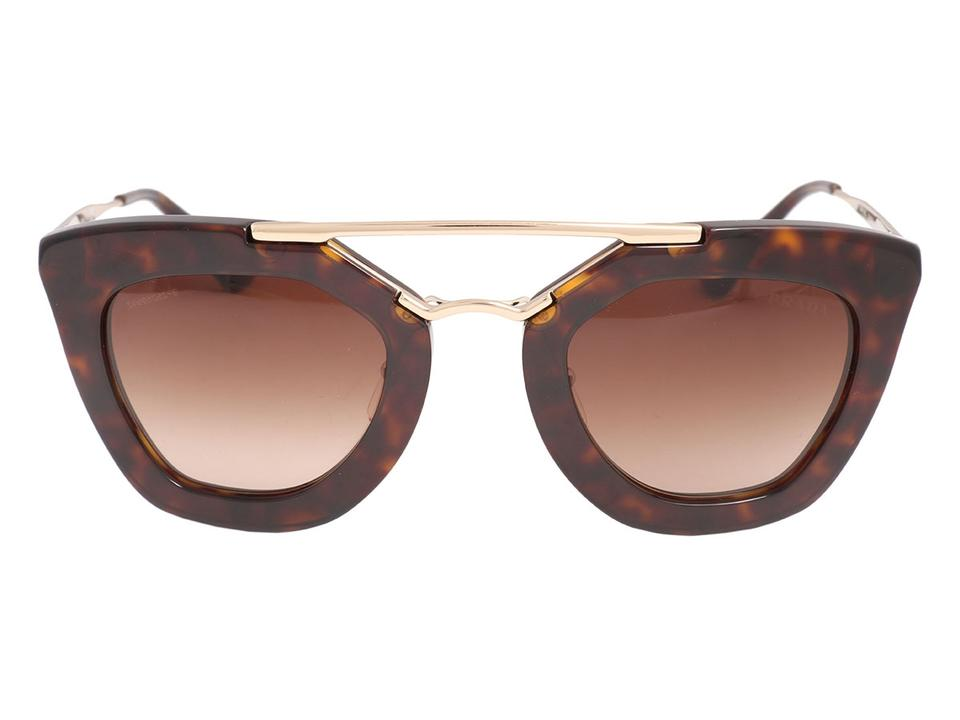 2e68ae6c66 ... top quality prada prada tortoiseshell cat eye aviator sunglasses 2adf2  8782b