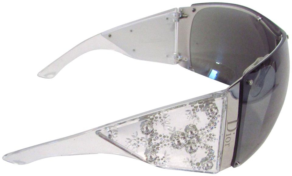 f027dc48166 Dior Clear Crystal Limited Edition 4568 5000 Grand Salon Sunglasses ...