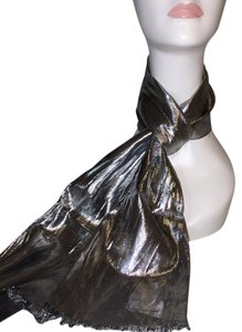 Other Silver Lame' Scarf [ Roxanne Anjou Closet ]