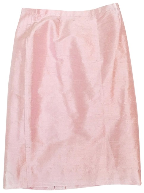 Item - Pink Silk Pencil Skirt Size 4 (S, 27)