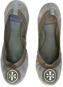 Tory Burch Ballet Suede Size 7 Brown Flats