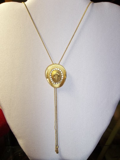 Other Necklace and Earring Set, Western/Cowboy Theme, Bolo Style, Venetian Chain