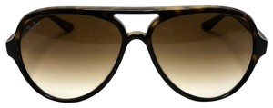 Ray-Ban - RB 4125 CATS 5000 SHIPS IMMEDIATELY - Large Tortoise Ray Ban Aviator
