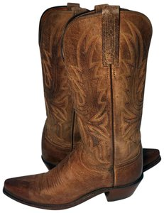 Lucchese Cowgirl 6.5 Women Size 6.5 Western 6.5 Brown Boots