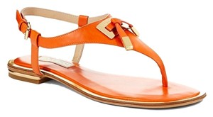 Michael Kors Orange Sandals
