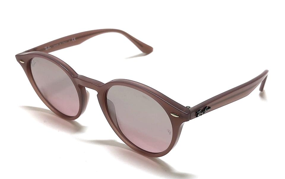 f18e1262c Ray-Ban Opal Pink Antique Pink / Pink Gradient Silver Mirrored Lens Rounded  Rb 2180 6229/7e Sunglasses