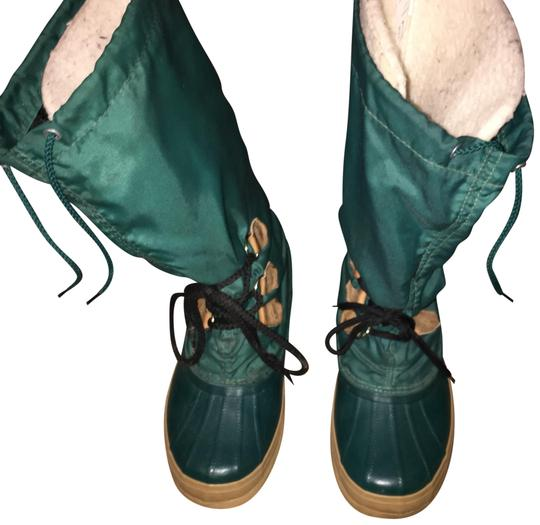 beauty best shoes classic Sorel Green Nylon Freestyle Boots/Booties Size US 7 Regular (M, B) 63% off  retail