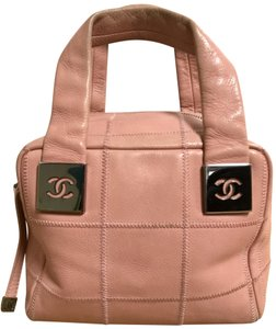Chanel Tote in Pink/Peach