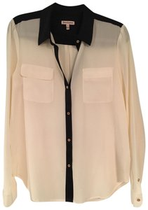 Juicy Couture Button Down Shirt White, Black