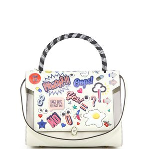 Anya Hindmarch Satchel in white