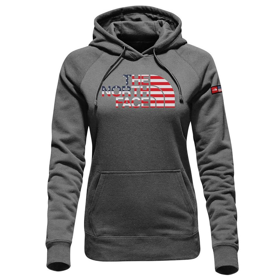 5d8fc4ca8b7 The North Face Grey Women's International Collection Pullover  Sweatshirt/Hoodie Size 16 (XL, Plus 0x)