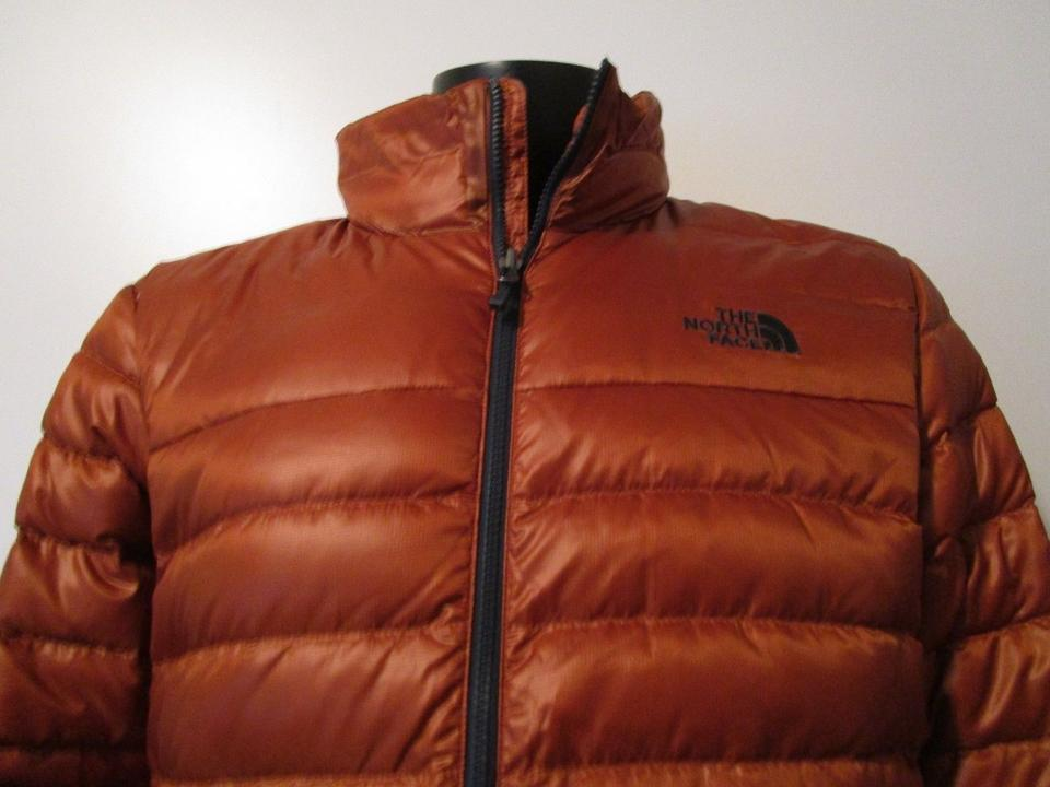 e5c44345e29 The North Face Gingerbread Brown Mens Flare 550-down Insulated Fz ...