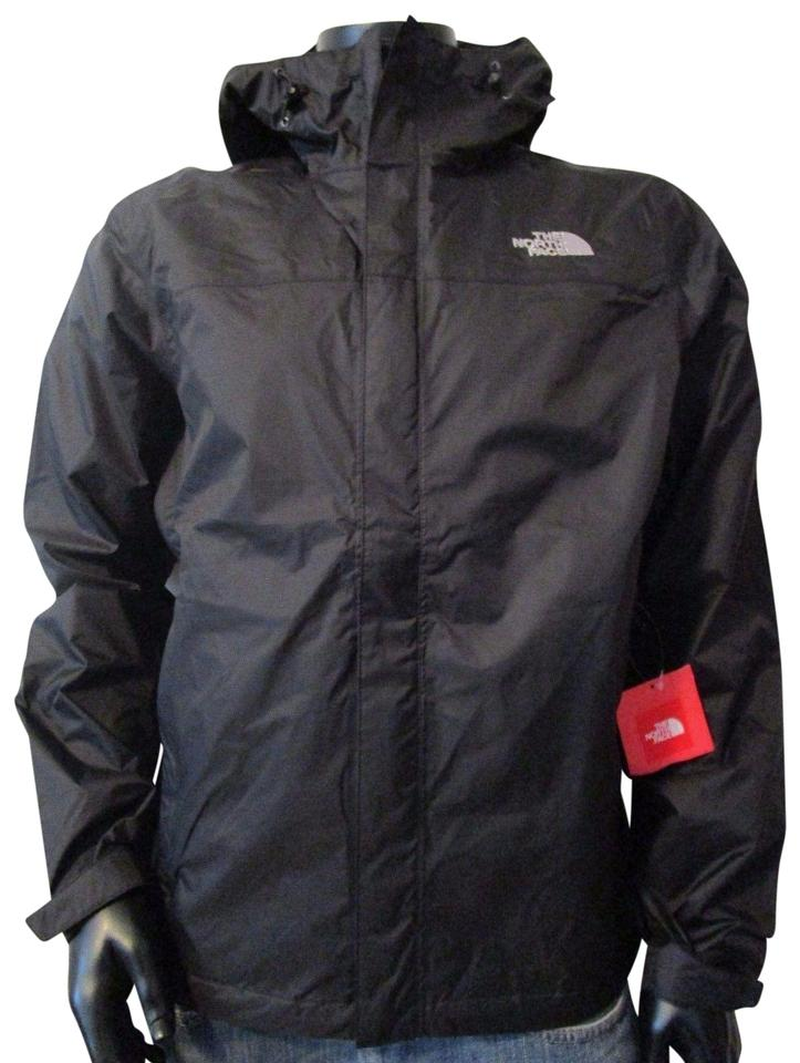2682167a3 The North Face Tnf Black Mensthe Venture Dryvent Waterproof Hooded Rain  Jacket Size 12 (L)