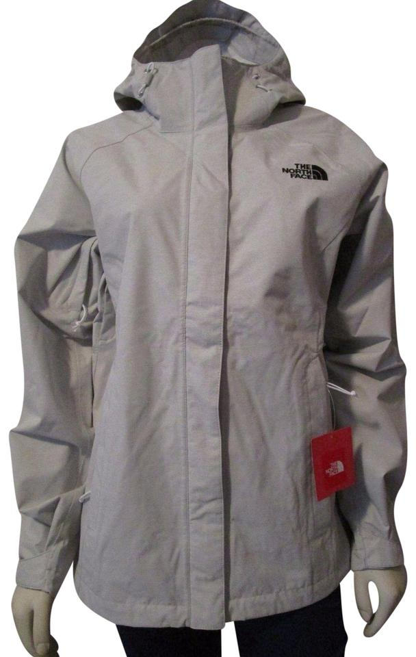 ad717ae5e The North Face Luna Rice Grey Womens Tnf Venture Waterproof Hooded Rain  Jacket Size 16 (XL, Plus 0x)