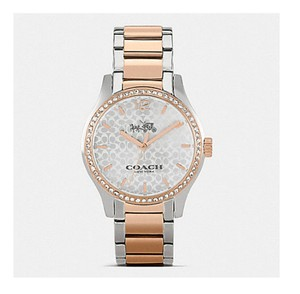 Coach COACH MADDY TWO TONE SET BRACELET WATCH (COACH W6183)
