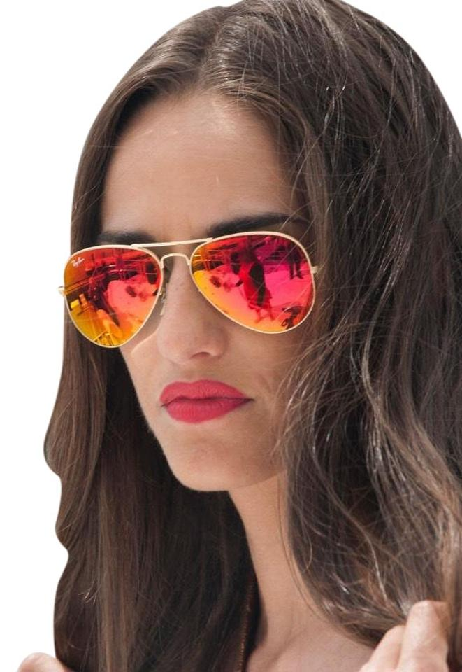 Germany Pink And Gold Ray Ban Aviator 6c71b C8362