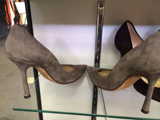 Jimmy Choo Taupe grey Pumps