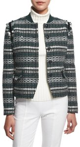 Tory Burch green, black, white Jacket
