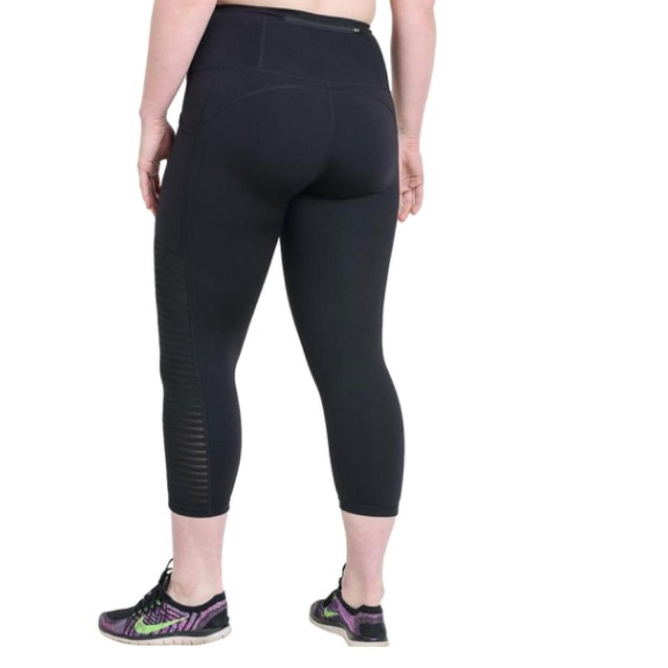 53344403517 Mono B Black Xl Mesh Yoga Pants Exercise High Waist Activewear Bottoms