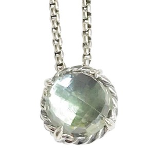"David Yurman GORGEOUS!! David Yurman Prasiolite Faceted ""Chatelaine"" Necklace"