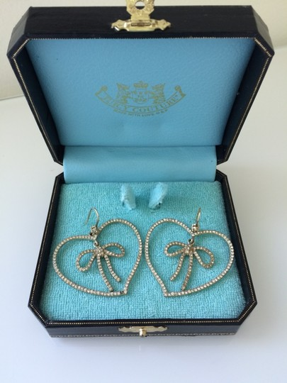Juicy Couture Juicy Couture Bejeweled Bow Earrings