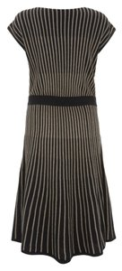 Marc by Marc Jacobs Metallic Sparkle Striped Dress