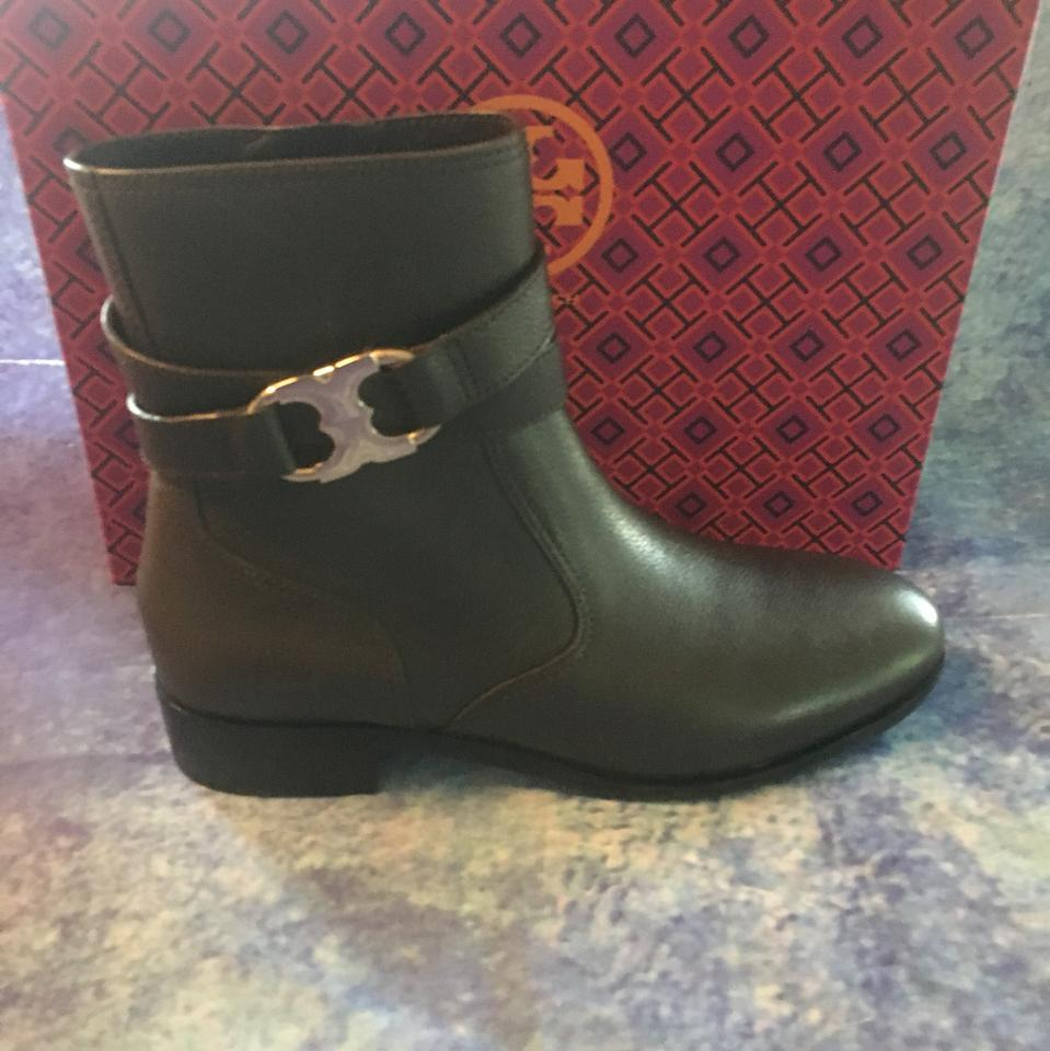 b1efcca1f6e6 Tory Burch Coconut Gemini Link Tumbled Leather Boots Booties. Size  US 8 ...