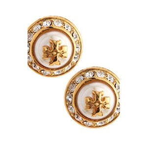 Tory Burch Natalie pearl Stud Earrings