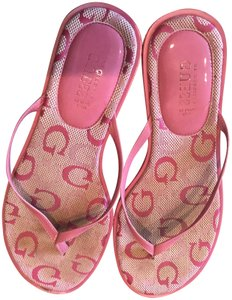 Guess By Marciano Pink Sandals