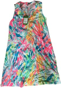 Lilly Pulitzer short dress Essie Sparkling Sands on Tradesy