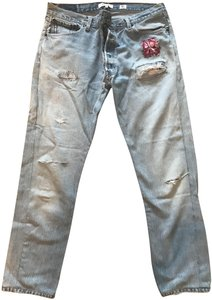 RE/DONE Boot Cut Jeans-Light Wash