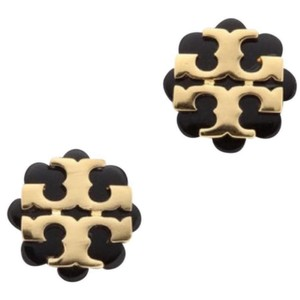 Tory Burch flower Resin logo Stud