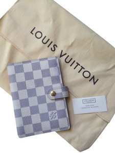 Louis Vuitton Louis Vuitton Damier Azur Agenda Pm
